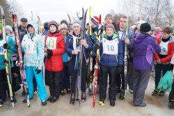 Соревнования по лыжным гонкам!