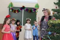 Новогодний праздник для детей 5-6 лет
