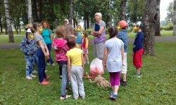 Очередной день лагеря по России