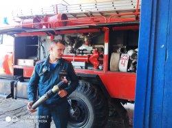 Посещение пожарной части!